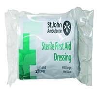 St John Ambulance 180 x 180mm Dressing