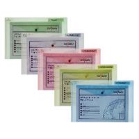 Snopake Classc Wallet Assorted Pk5 10087