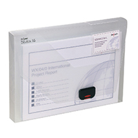 Snopake 35mm DocBox A4 Clear