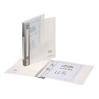 Snopake A5 15mm Clear 2 Ring Binder Pk10