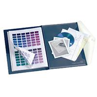 Snopake Blue Poly A4 Display 20 Pkt Book