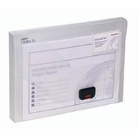 Snopake A4 25mm Clear Document Box