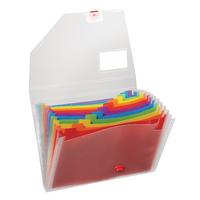 Snopake Rainbow Expanding Organiser A4