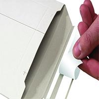 Board Envelope A4 235x308mm White Pk25