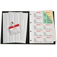 Identibadge Visitors Book IBVBSYS300