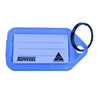 Kevron Clicktag Blue Key Tag Pk100