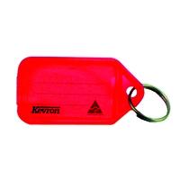 Kevron Plastic Red Clicktag Key Tags