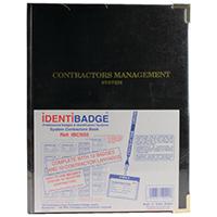 Identibadge Contractor Book/Lnyrd IBSSC5