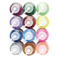 Glitter Glue Assorted 60g Pk12