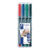 Staedtler Lumocolor OHP Perm Asd Pen Pk4