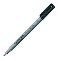 Staedtler Black OHP Fine Lumocolor Pk10