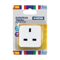 European Travel Adaptor Plug Pk12