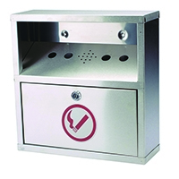 Sterling Ash Bin Wall Mounted Steel