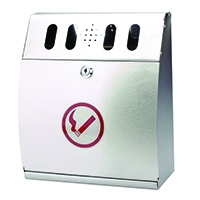 Sterling Ash Bin Wall Mounted Curved