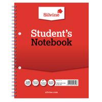 Silvine 9x7in Spiral Bound Book Pk12