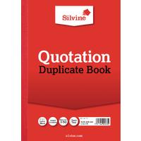 Silvine Duplicate Quotation Book Pk3 624
