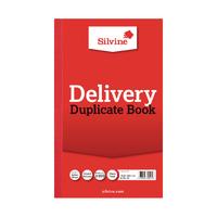 Silvine Dupl Delivery Book Pk6 613-T