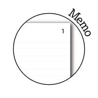 Silvine Duplicate Memo Book 4x5 Pk12