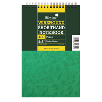 Silvine Shorthand Notebook 5x8in Pk6