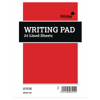Duke Writingpad Ruled 24 Shts Pk36