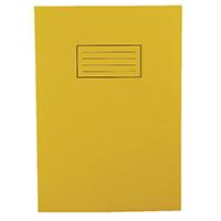 Silvine Yellow EX109 Exercise Book Pk10