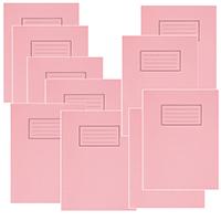 Silvine Pink 9x7 Exercse Book Pk10 EX112