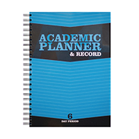 Silvine Teacher Academic Planner 6 EX202