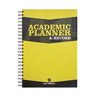 Silvine Teacher Academic Planner 9 EX203