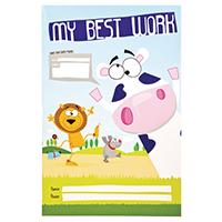 Silvine My Best Work Book Pk10 EX501