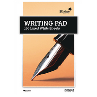 Med Writingpad Ruled 100Sht Pk10
