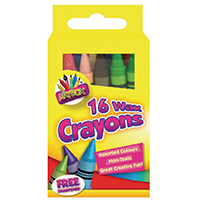 Tallon Assorted Wax Crayons Pk192