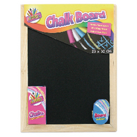 Chalk Board And Eraser Set Pk12