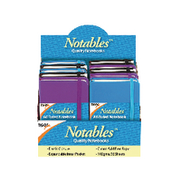 A6 Notables Notebooks Assorted Pk10