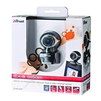 Trust Exis Webcam Black/Silver 17003