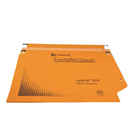 Orange 50mm Crystalfile Lateral File P25