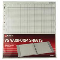 Variform V5 10-Column Cash Refill Pk75