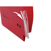 Twinlock Lateral File Tabs Clear Pk50