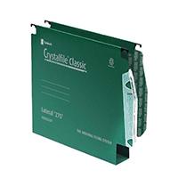 Crystalfile Green 30mm Lateral File Pk50