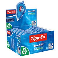 Tipp-Ex Easy Refill Correction Rllr Pk10
