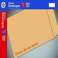 Board-Backed C5 P/Seal Manilla Envelope