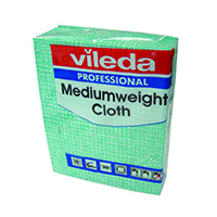 Vileda Green Medium Cloth Pk10