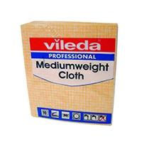 Vileda Yellow Medium Weight Cloth Pk10