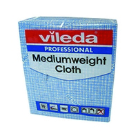 Vileda Blue Medium Cloth Pk10