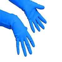 Vileda Multipurpose Gloves Med Pk10 Blu