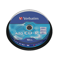 Verbatim CD-R NonPrint Spindle 43437