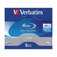 Verbatim Blu-ray BD-R 25Gb 6xJewel 43715