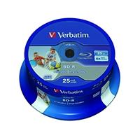 Verbatim Blu-ray BD-R 25Gb 6xPrint 43811
