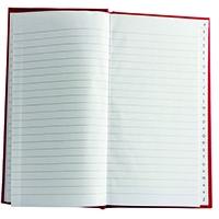 Casebound A5 Index Book Pk10