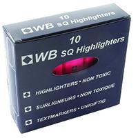 HiGlo Pink Highlighter Pens Pk10
