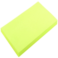 Yellow 75x125mm Repositionable Note Pk12